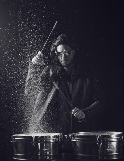 Benjy Percusionist - Sylvain THIOLLIER Photographe